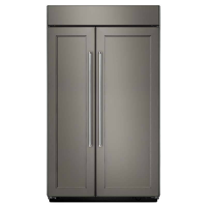 25.5 cu. ft 42-Inch Width Built-In Side by Side Refrigerator with PrintShield™ Finish KBSN602ESS
