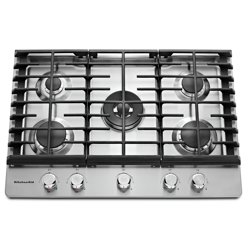 "30"" 5-Burner Gas Cooktop KCGS550ESS"