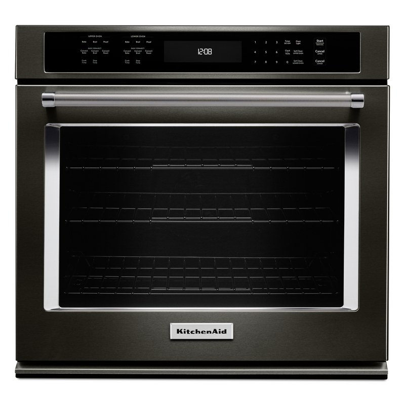 "27"" Single Wall Oven with Even-Heat™ True Convection KOSE507EBS"