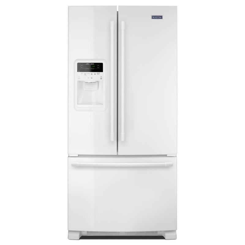 33- Inch Wide French Door Refrigerator with Beverage Chiller™ Compartment - 22 Cu. Ft. MFI2269FRW