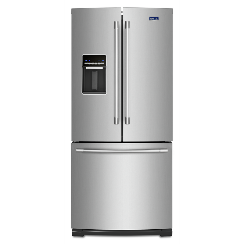 30-Inch Wide French Door Refrigerator with Exterior Water Dispenser- 20 Cu. Ft. MFW2055FRZ