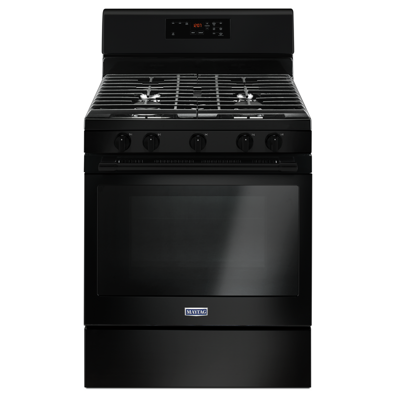 30-INCH WIDE GAS RANGE WITH 5TH OVAL BURNER - 5.0 CU. FT. MGR6600FB