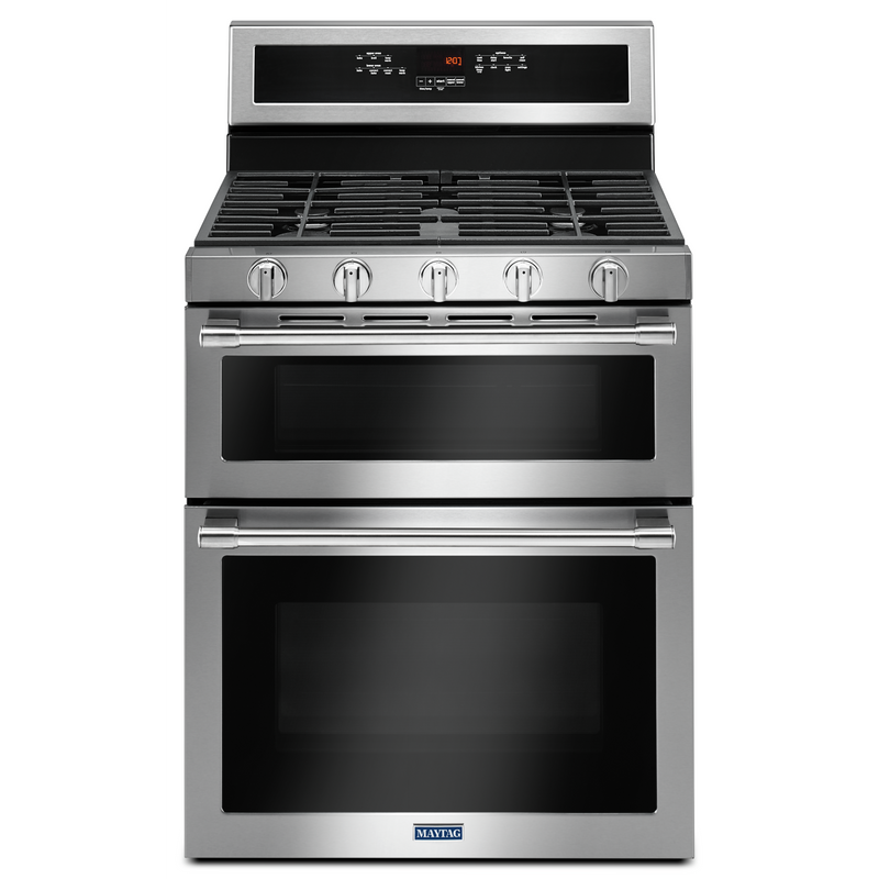 30-INCH WIDE DOUBLE OVEN GAS RANGE WITH TRUE CONVECTION - 6.0 CU. FT. MGT8800FZ