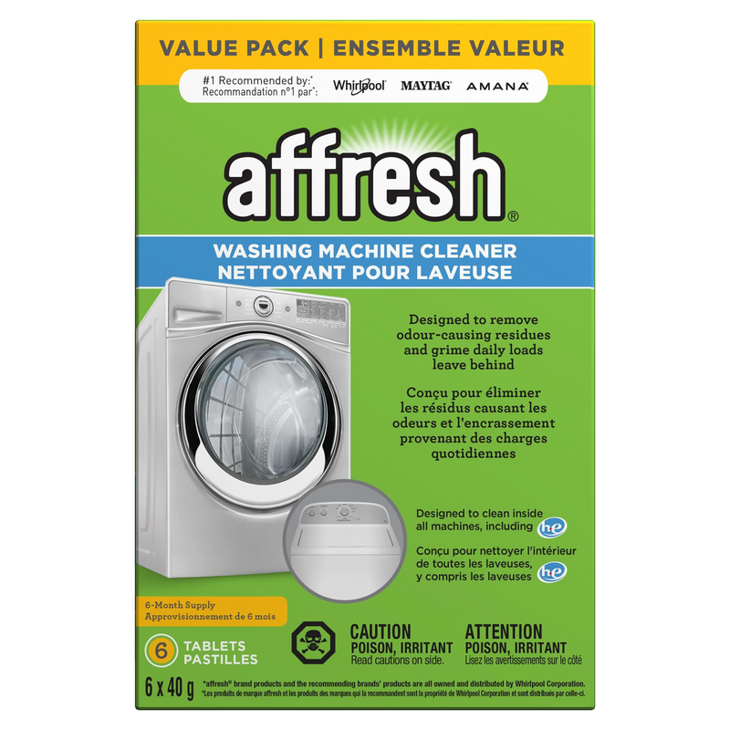affresh® Washing Machine Cleaner - 6 count W10501250B