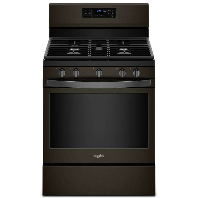 5.0 cu. ft. Freestanding Gas Range with Fan Convection Cooking WFG550S0HZ