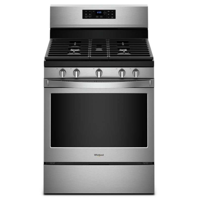 5.0 cu. ft. Freestanding Gas Range with Fan Convection Cooking WFG550S0HB