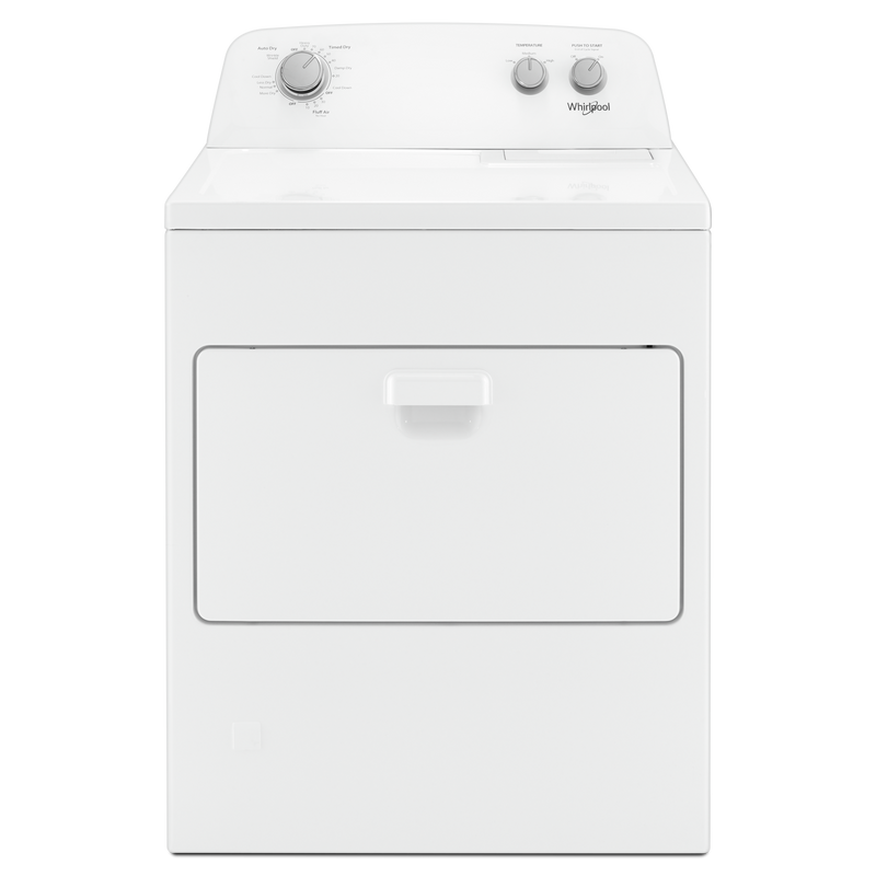 7.0 cu. ft. Top Load Gas Dryer with AutoDry™ Drying System WGD4850HW