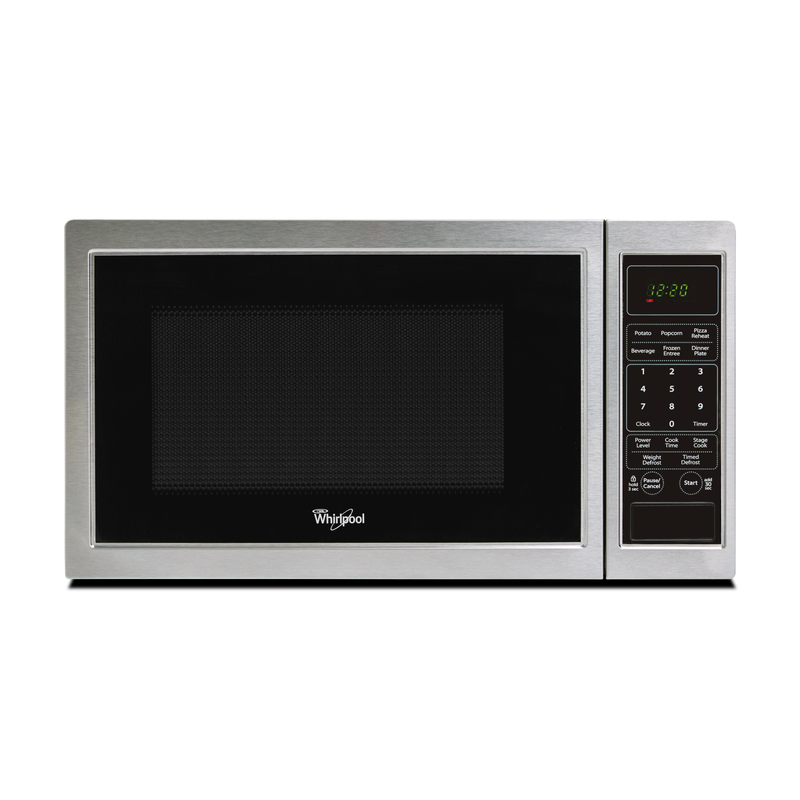 Whirlpool® 0.9 Cu. Ft. Countertop Microwave WMC11009AS