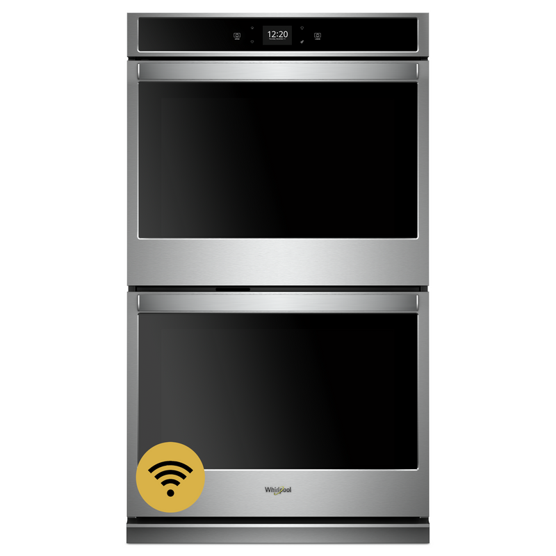 8.6 cu. ft. Smart Double Wall Oven with Touchscreen WOD51EC7HW