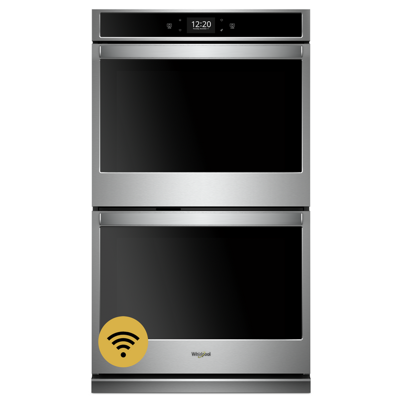8.6 cu. ft. Smart Double Wall Oven with True Convection Cooking WOD77EC7HS