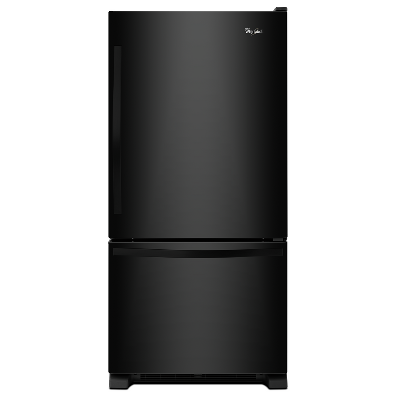 Whirlpool® 22 cu. ft. Bottom-Freezer Refrigerator with Freezer Drawer WRB322DMBW