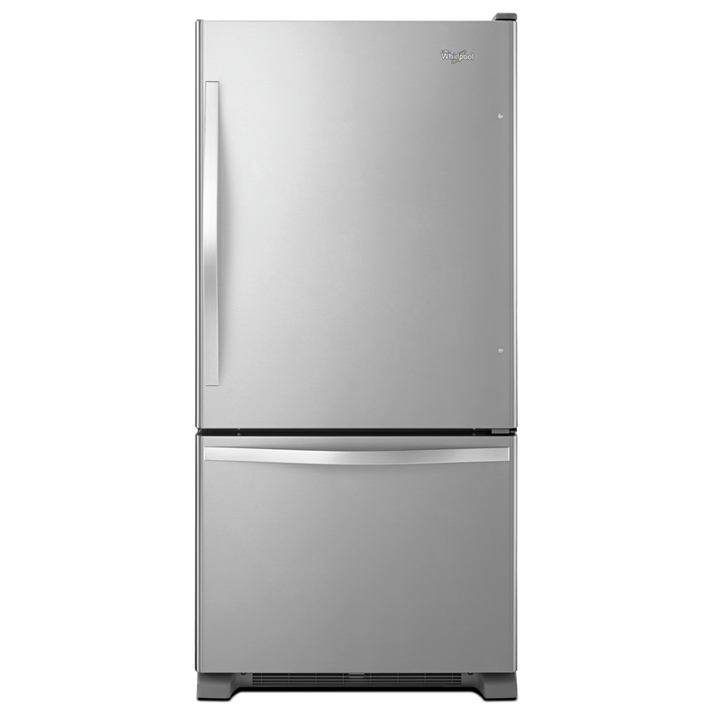 Whirlpool® 19 cu. ft. Bottom-Freezer Refrigerator with Freezer Drawer WRB329RFBM