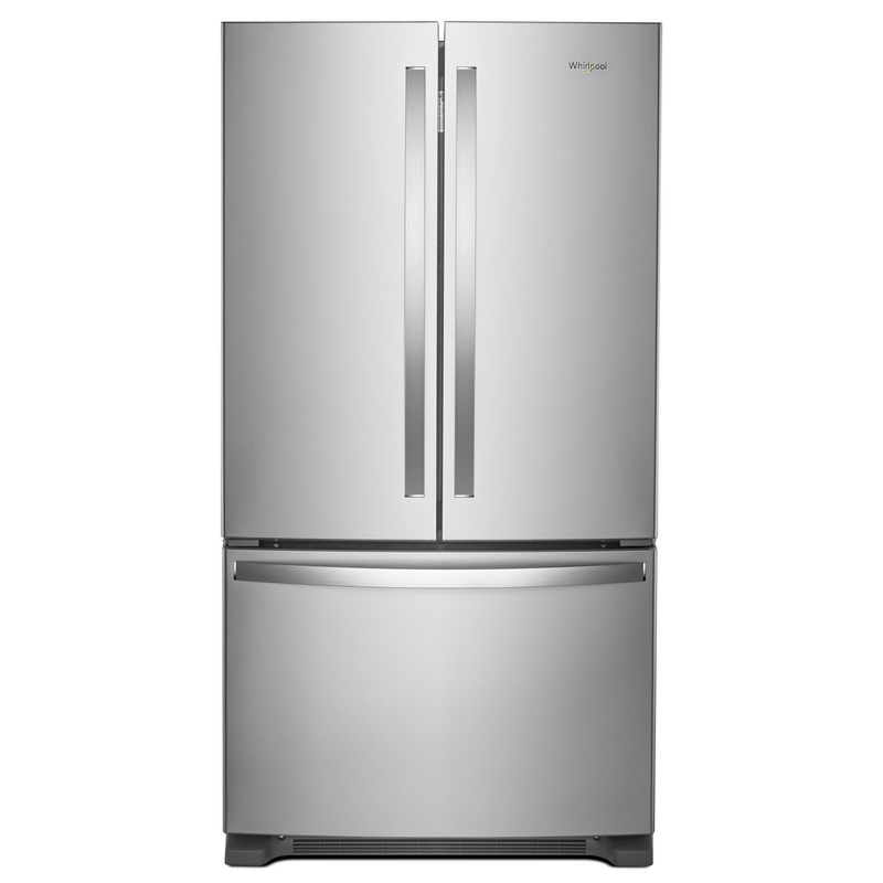 36-inch Wide Counter Depth French Door Refrigerator - 20 cu. ft. WRF540CWHB