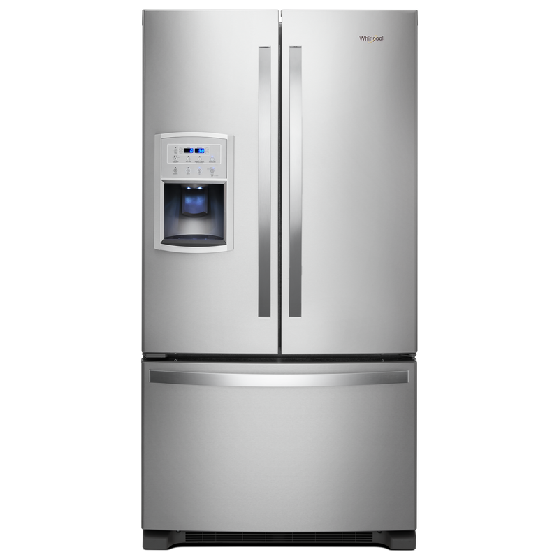 36-inch Wide Counter Depth French Door Refrigerator - 20 cu. ft. WRF550CDHZ