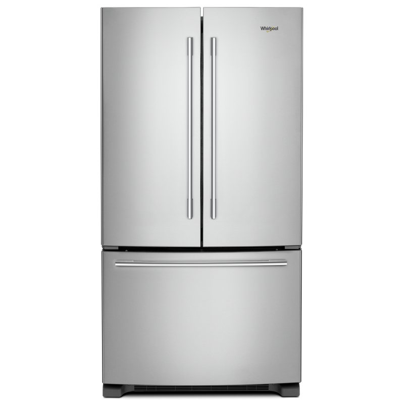 36-inch Wide French Door Refrigerator with Crisper Drawer - 25 cu. ft. WRFA35SWHZ