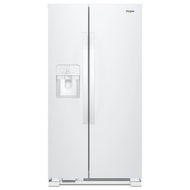 36-inch Wide Side-by-Side Refrigerator - 25 cu. ft. WRS325SDHV