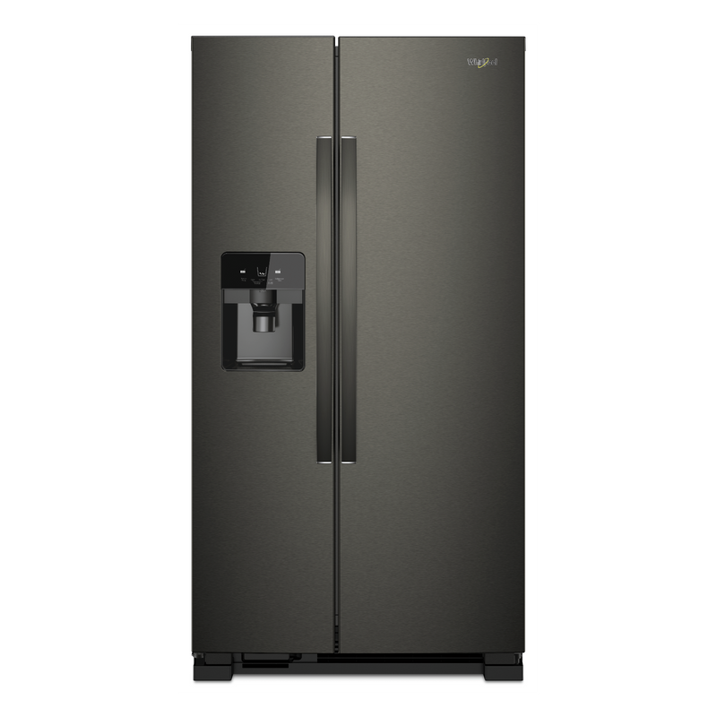 36-inch Wide Side-by-Side Refrigerator - 25 cu. ft. WRS555SIHV