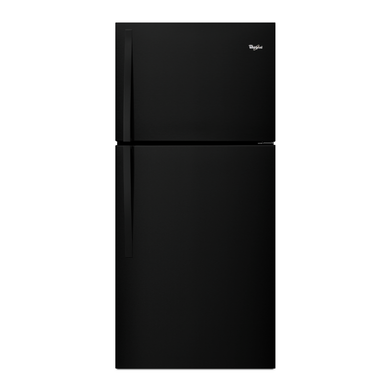 "Whirlpool® 30"" Wide Top-Freezer Refrigerator with LED Interior Lighting WRT549SZDW"