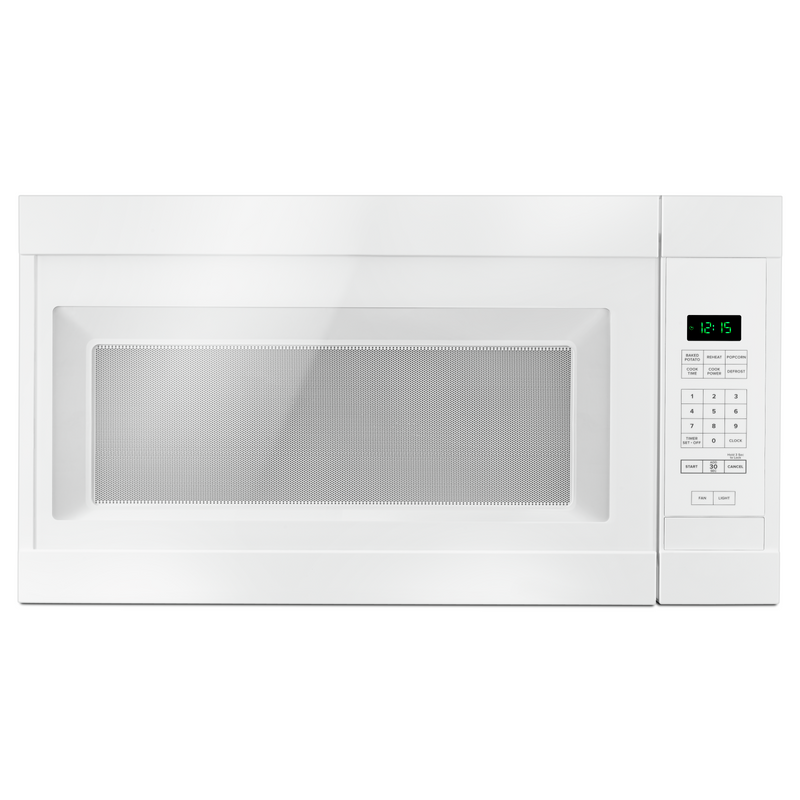 1.6 cu. ft. Amana® Over-the-Range Microwave with Add 0:30 Seconds YAMV2307PFW