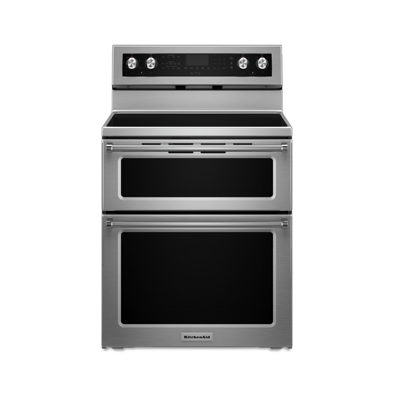 30-Inch 5 elements Electric Double Oven Convection Range YKFED500ESS