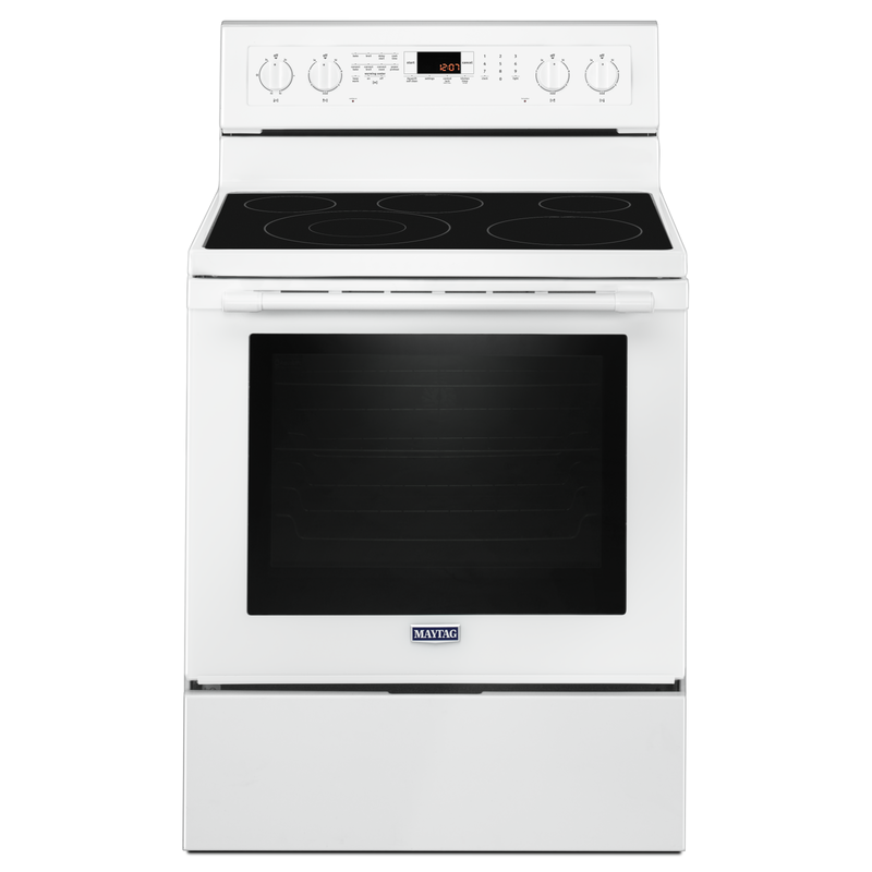 30-INCH WIDE ELECTRIC RANGE WITH TRUE CONVECTION AND POWER PREHEAT - 6.4 CU. FT. YMER8800FZ