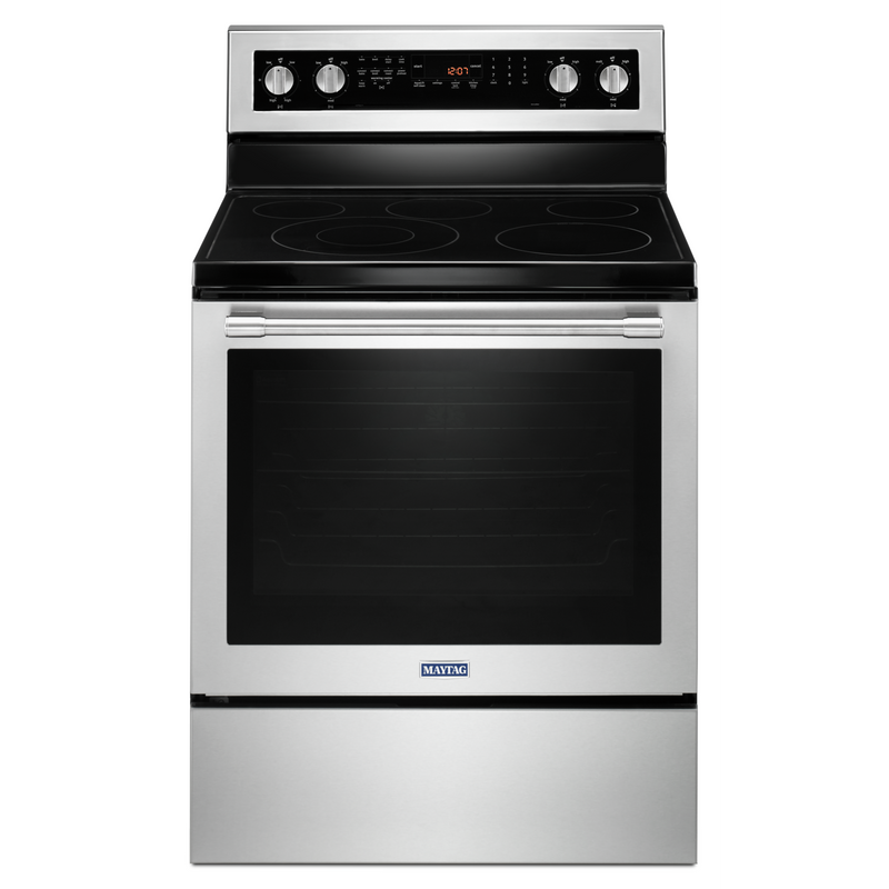 30-INCH WIDE ELECTRIC RANGE WITH TRUE CONVECTION AND POWER PREHEAT - 6.4 CU. FT. YMER8800FW
