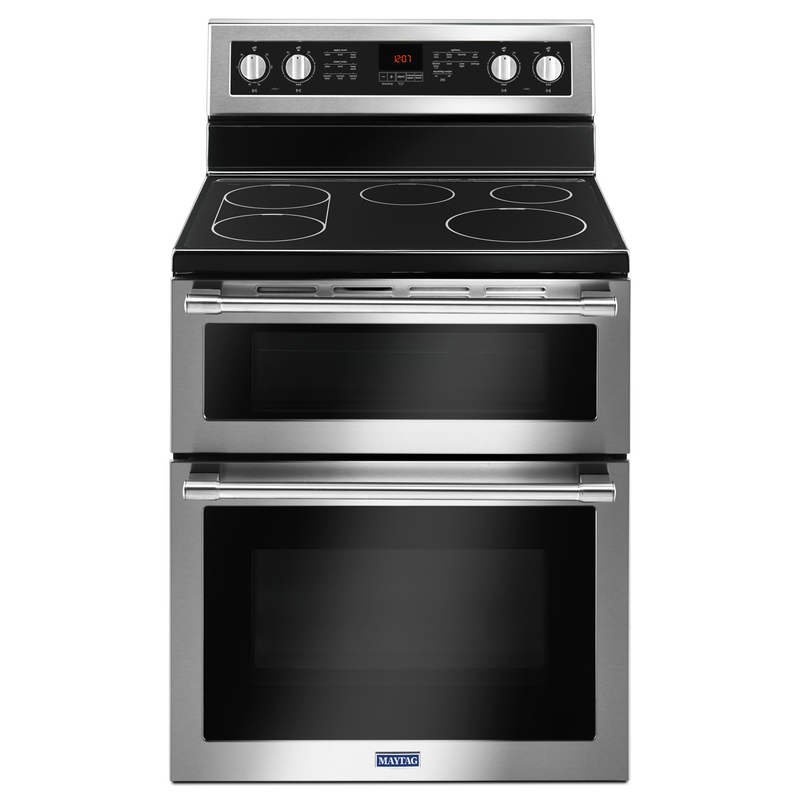 30-Inch Wide Double Oven Electric Range With True Convection - 6.7 Cu. Ft. YMET8800FZ