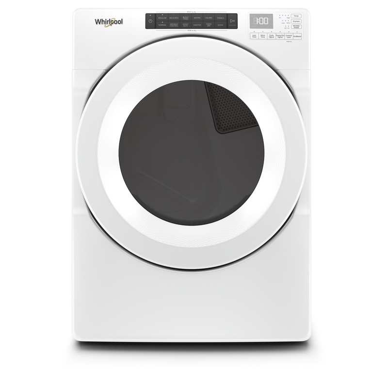 7.4 cu. ft. Front Load Electric Dryer with Intuitive Touch Controls YWED560LHW