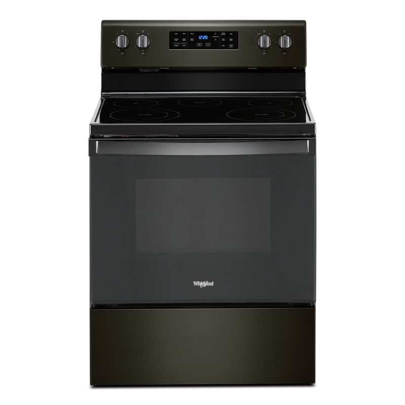 5.3 cu. ft. Whirlpool® electric range with Frozen Bake™ technology YWFE535S0JV