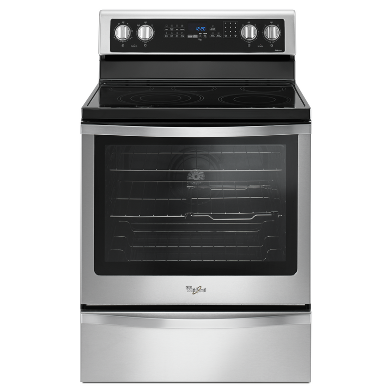 6.4 Cu. Ft. Freestanding Electric Range with True Convection YWFE745H0FS