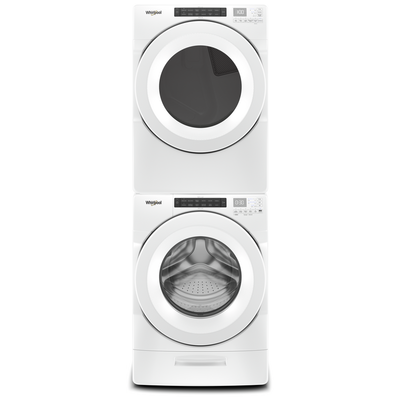 7.4 cu. ft. Front Load Electric Dryer with Intuitive Touch Controls YWED5620HW