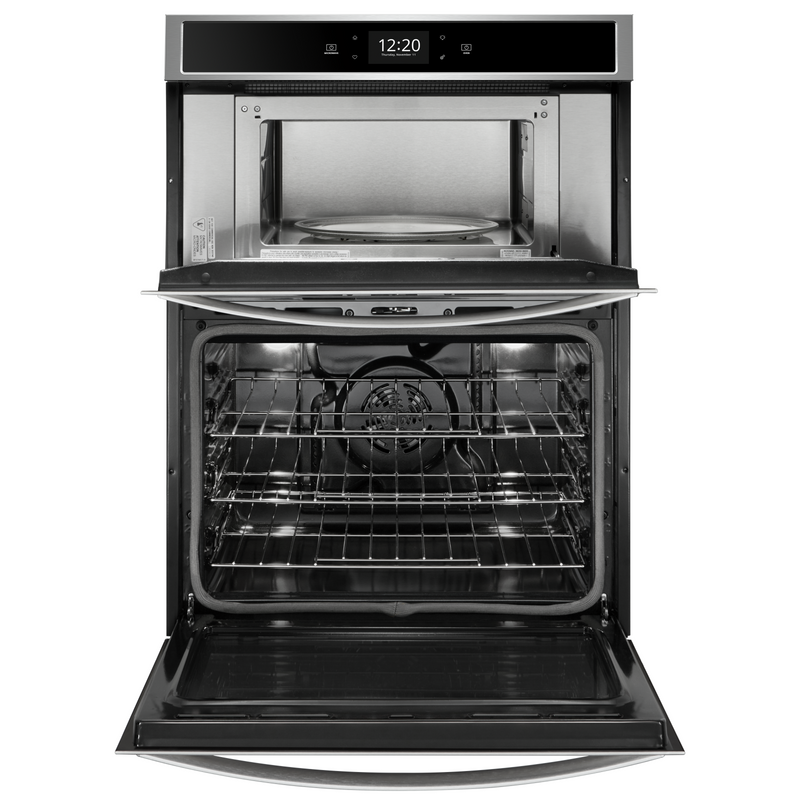 6.4 cu. ft. Smart Combination Wall Oven with Touchscreen WOC75EC0HS