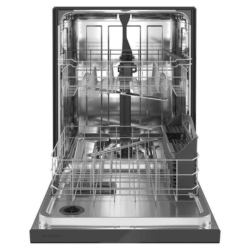 Maytag® Stainless steel tub dishwasher with Dual Power filtration MDB4949SKB