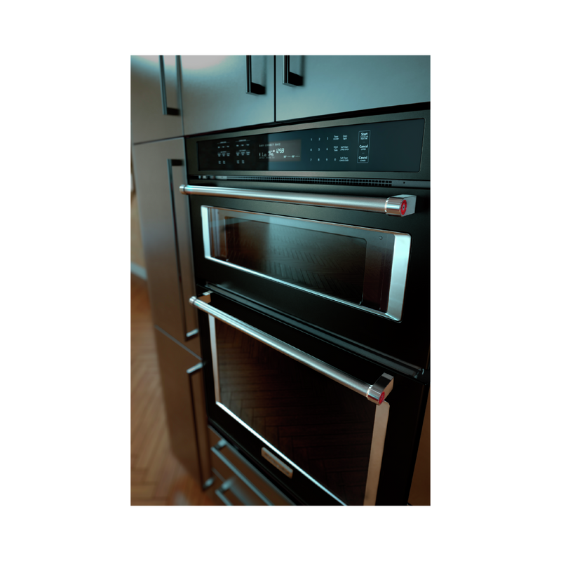 "30"" Combination Wall Oven with Even-Heat™ True Convection (Lower Oven) KOCE500EBS"