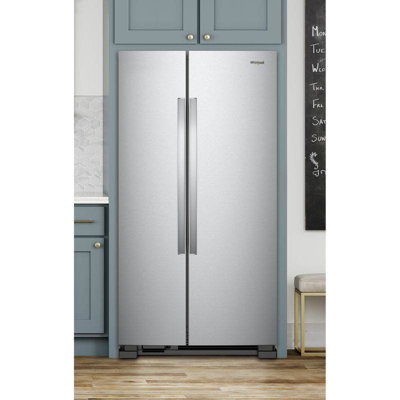 36-inch Wide Side-by-Side Refrigerator - 25 cu. ft. WRS315SNHM