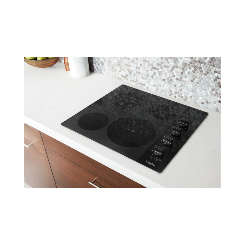 24-inch Compact Electric Ceramic Glass Cooktop WCE55US4HB