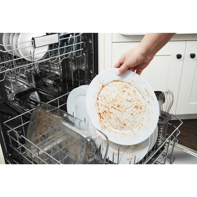 Top control dishwasher with Third Level Rack and Dual Power Filtration MDB9979SKZ