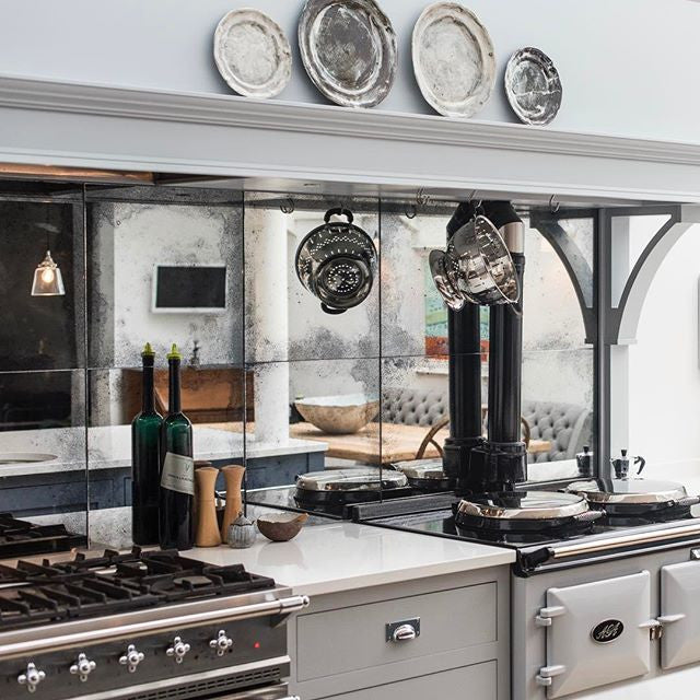 Antique Mirror Kitchen Tiles & Splashbacks