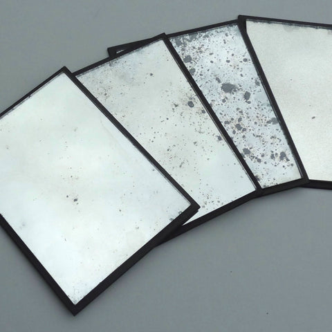 Antique Mirror Finish Samples | Rough Old Glass
