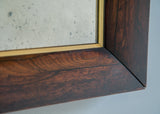 English Rosewood & Gilt Mirror - SOLD