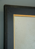English Ebonised Mirror