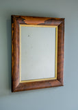 English Rosewood Mirror