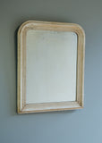 French Mirror with Gesso Finish - SOLD