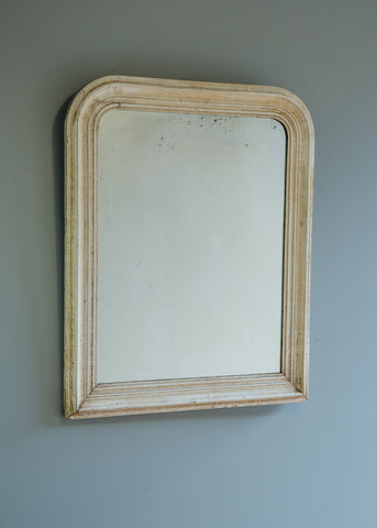 French Louis Phillipe Gesso Mirror | Rough Old Glass