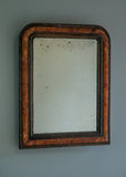 Faux Grained Mirror