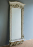 Large French Pier Mirror - SOLD