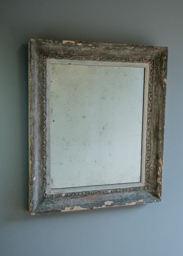Mid 19th Century English Mirror with Historic Paint Layers