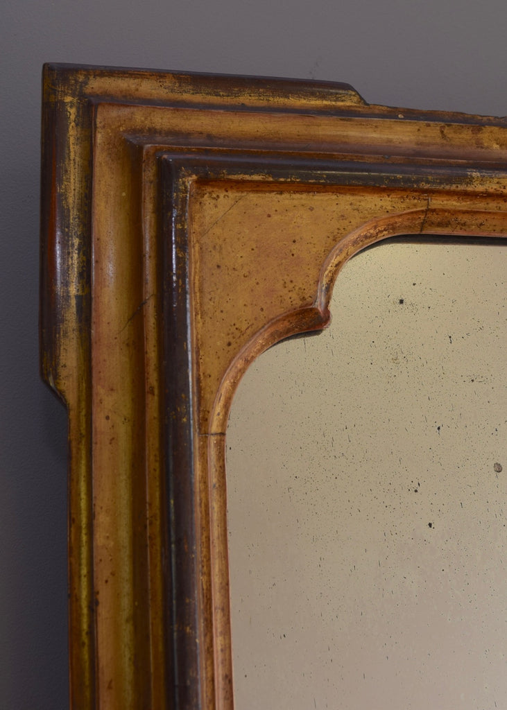 English Gilt Overmantel Mirror - SOLD