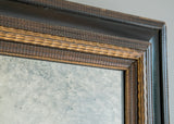 English Carved Gilt & Ebonised Mirror - SOLD