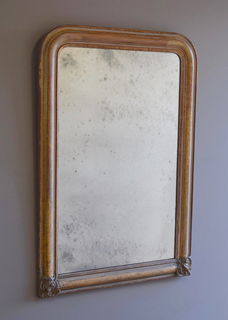 Late 19th Century French Gilt Mirror